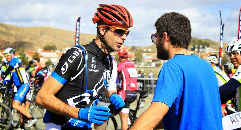 Tu líquido sellante tubeless Biking Pro no puede faltar en una prueba tan exigente como la Acepain de Albacete.