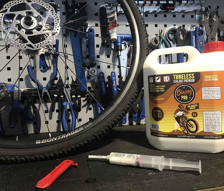 Montaje ruedas tubeless