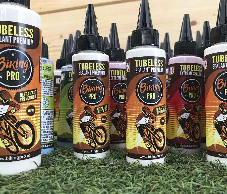 Productos biking pro tubeless para los participantes de la carrera de bicis
