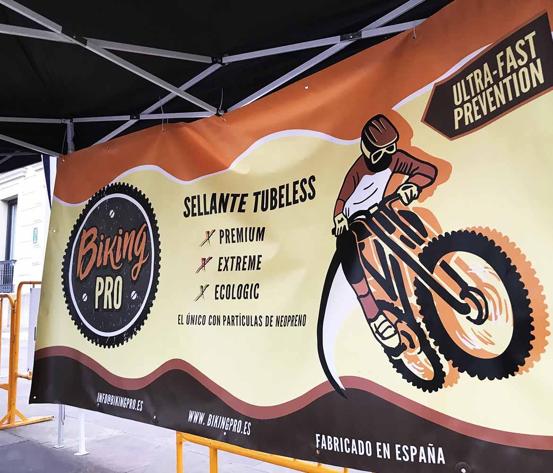Biking pro tubeless como patrocinador de la Titán de la Mancha 2018