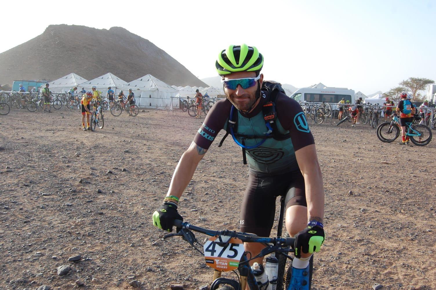 Ino Serra en la Titan Desert 2019 Biking Pro Tubeless