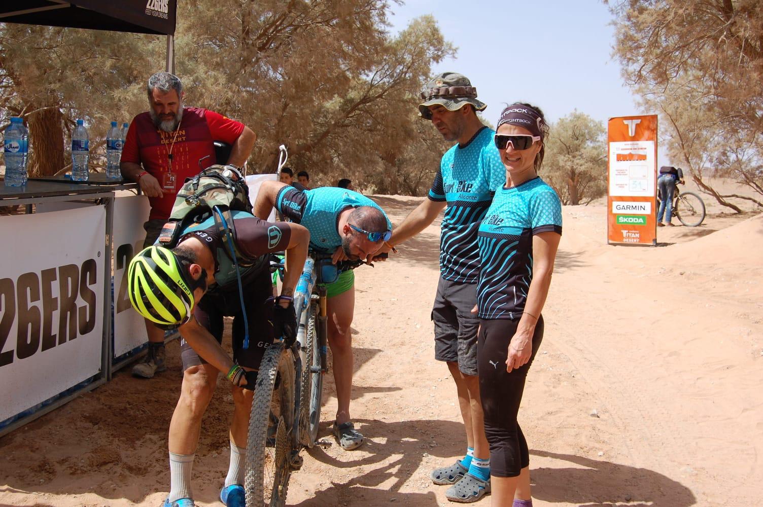 Ino Serra & Biking Pro Tubeless en la Titan Desert 2019