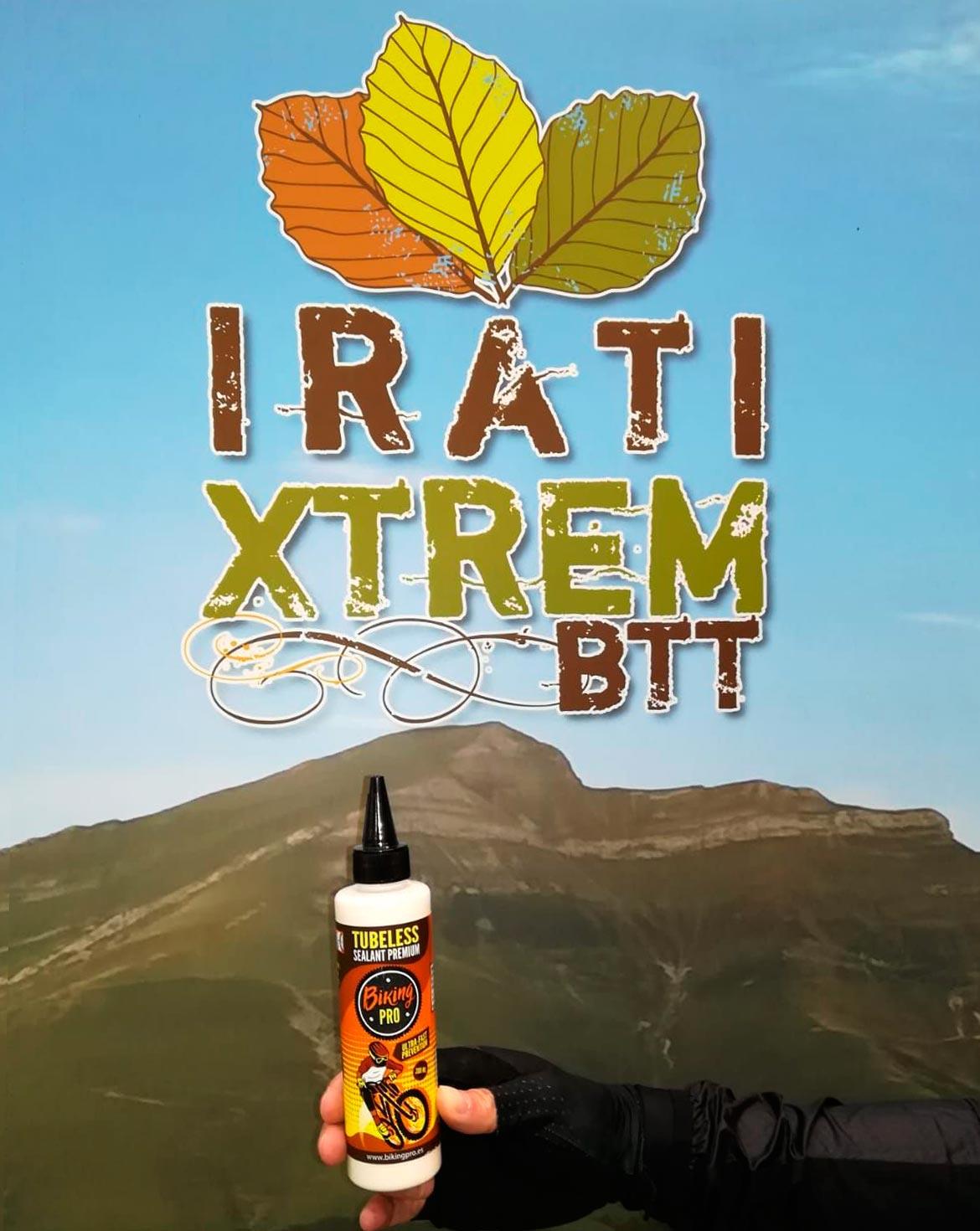 Bikingpro en la Irati Xtrem 2018, una experiencia increible