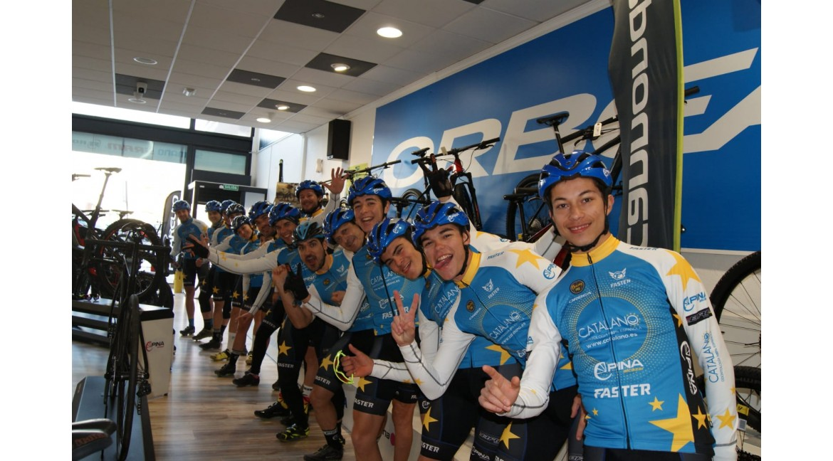 OS PRESENTAMOS AL CATALANO RACING TEAM 2020